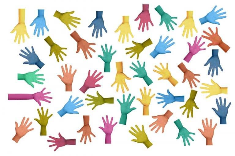 volunteers, hands, voluntary